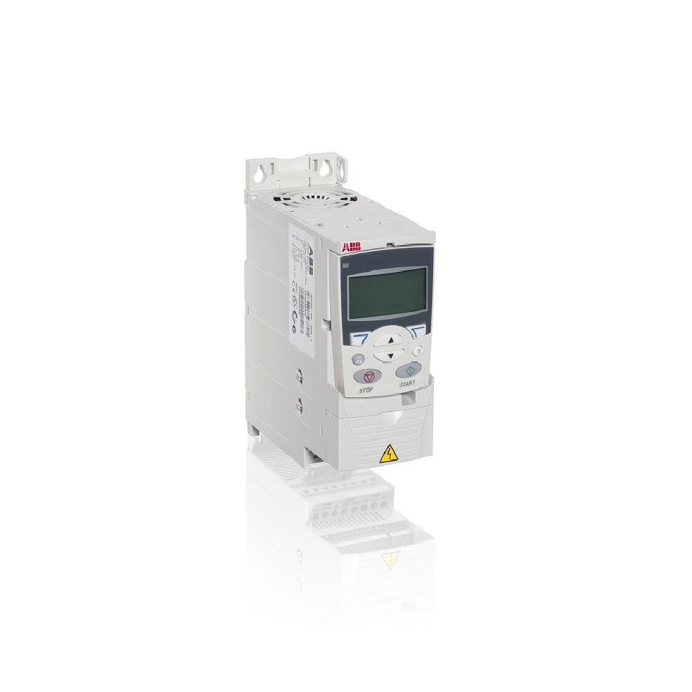 ACS355-03U-04A1-4+J400 ABB VFD, 2HP, 480 VAC 3PH, R1 FRAME, IP20, WITH ADVANCED KEYPAD 3AUA0000078248